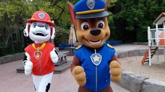 Paw Patrol Meet and Greet Chase & Marshall