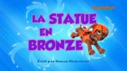 PAW Patrol La Pat' Patrouille La Statue en bronze