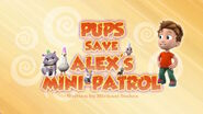 PAW Patrol Mini-Patrol Title Card