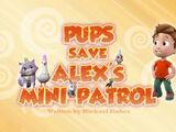 Pups Save Alex's Mini-Patrol