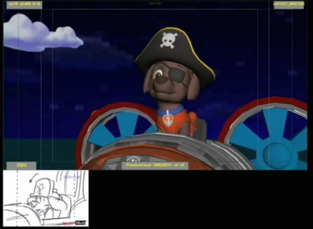 File:PAW Patrol Zuma in Hovercraft Draft Render.png