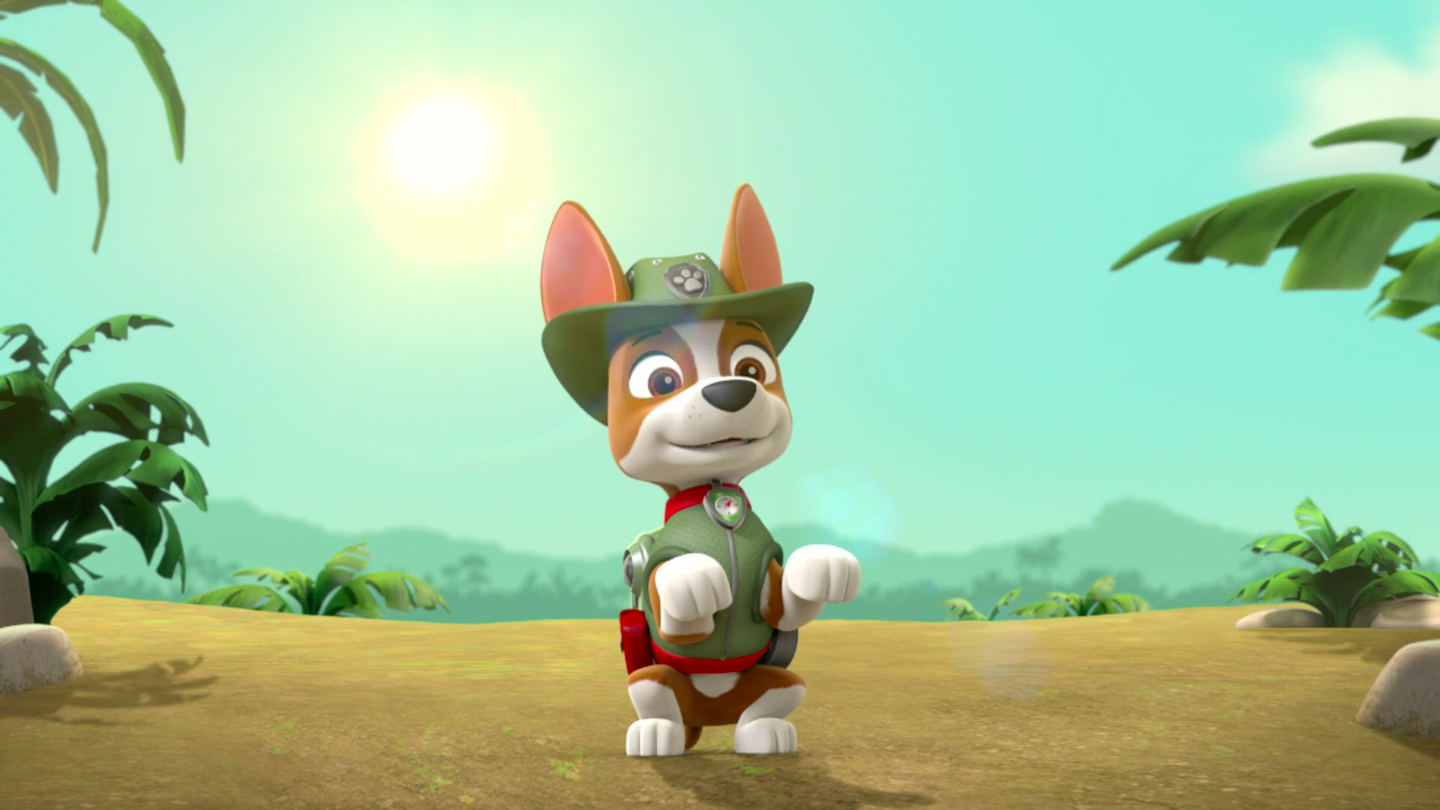 Tracker Appearances Paw Patrol Wiki Fandom Powered By