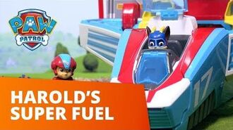 PAW Patrol Harold's Super Fuel Toy Episode PAW Patrol Official & Friends