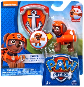 Paw Patrol Action Pack Pup Badge Zuma Pre Order Ships August 17
