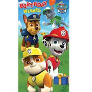 Birthday card- birthday wishes for a paw-some day!