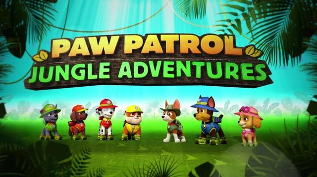 NICK JR - Paw Patrol Jungle Adventures