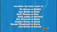 PAW Patrol British English Cast Credits 06