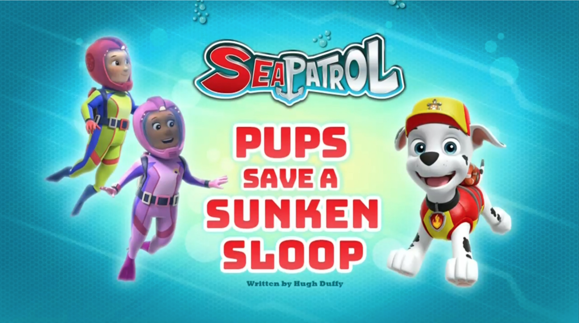 8bf7401f03 Sea Patrol: Pups Save a Sunken Sloop | PAW Patrol Wiki | FANDOM powered by  Wikia
