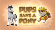 Pups Save a Pony (HQ)