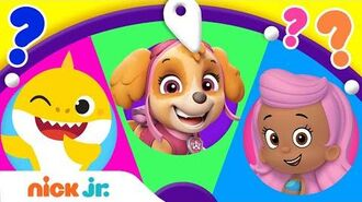 Spin the Wheel of Friends w Baby Shark, PAW Patrol, & Bubble Guppies! 🤩Ep. 10 Nick Jr.