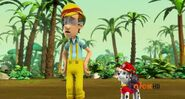 PAW Patrol Cap'n Turbot Captain Turbot and Marshall Scene