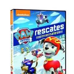 Spanish cover (<i>Rescates invernales</i>)