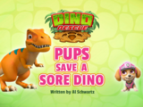 Dino Rescue: Pups Save a Sore Dino
