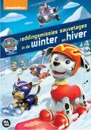 PAW Patrol Winter Rescues DVD Belgium-Netherlands