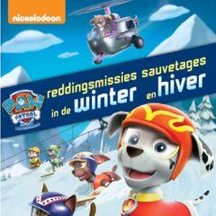 Belgian-Dutch cover (<i>Reddingsmissies in de winter</i> / <i>Sauvetages en hiver</i>)