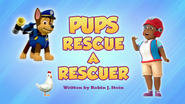Pups Rescue a Rescuer (HQ)