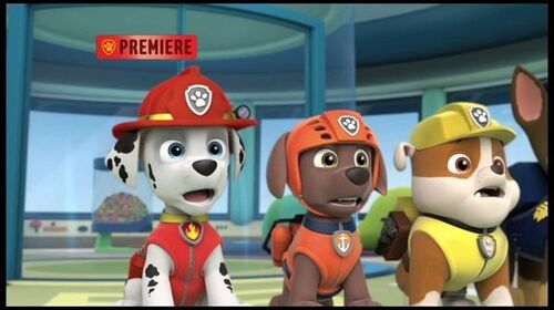 Pups and the Snow Monster (Nick USA promo)