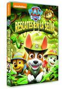 PAW Patrol Jungle Rescues DVD Spain