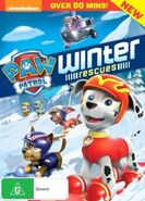 PAW Patrol Winter Rescues DVD Australia