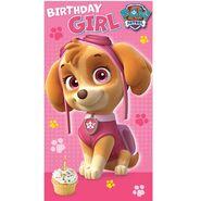 Birthday card- girl