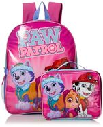 KAB26784959 Paw Patrol Girls Skye and Friends 15 Inch Backpack with Lunch Kit 3 33988.1472236963.1280.1280