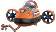 Nickelodeon Nick Jr. PAW Patrol Zuma in His Submarine with Claw