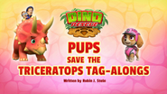 Pups Save the Triceratops Tag-Alongs (HQ)