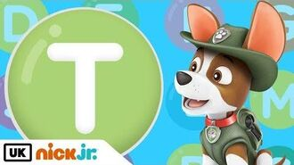 Words beginning with T! - Featuring PAW Patrol Nick Jr. UK