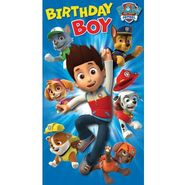 Birthday card- boy