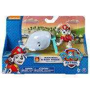PAW Patrol - Rescue Set - Marshall and Baby Whale 4