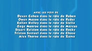 PAW Patrol French Cast Credits 01