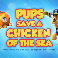 Chickaletta and Cali inside the Diving Bell on the title card for