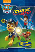 PAW Patrol Patrulla de Cachorros ¡Chase siempre listo! Book Cover