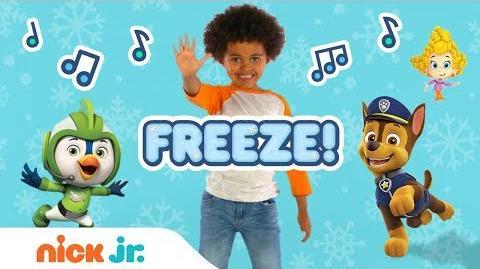 Freeze Dance Along w PAW Patrol, Bubble Guppies, Top Wing, Butterbeans & More! Nick Jr.