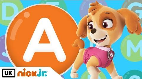 Words beginning with A! – Featuring PAW Patrol Nick Jr. UK