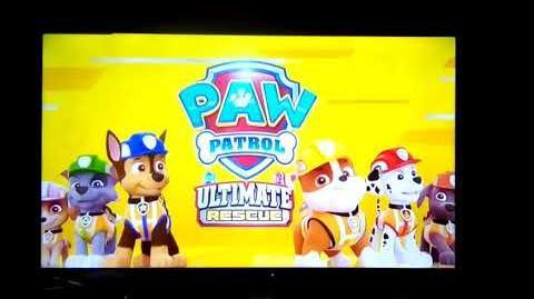 Paw patrol ultimate construction rescue sneak peek!!! 🚧