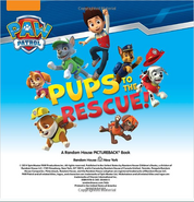 Pups to the rescue book 1