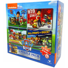 4 Pack Puzzle Set. Two 48 piece puzzles and Two 24 piece puzzles