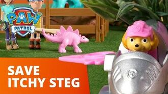 PAW Patrol Pups Save an Itchy Stegosaurus Toy Episode PAW Patrol Official & Friends