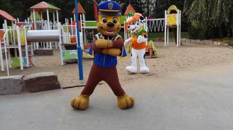 Paw Patrol Meet and Greet Chase & Marshall at Paw Patrol Halloween Event