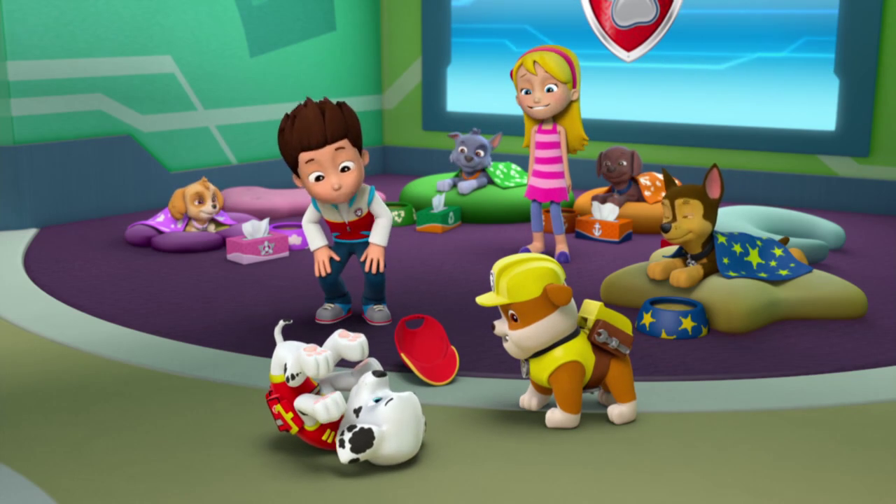 Paw Patrol Pups Save A Sniffle