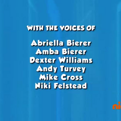 Dubbing cast credits (part 2) from Season 1 to Season 2 Episode 13 on Nick Jr.