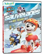 PAW Patrol Winter Rescues DVD Canada French
