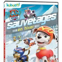 Canadian French cover (<i>Sauvetages en hiver</i>)