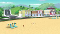 Air Pups Beach