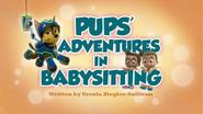 Pups' Adventures in Babysitting (HD)