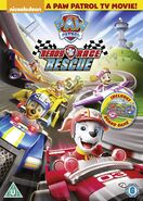 PAW Patrol Ready Race Rescue DVD UK