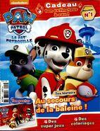 PAW Patrol - Baby Whale - French Magazine