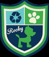 PAW Patrol Rocky Badge Alt