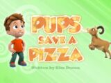 Pups Save a Pizza